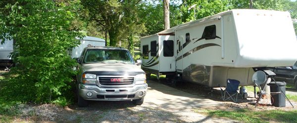 Monthly RV Site Rentals In Anderson County TN